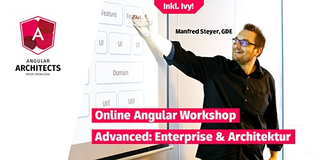Angular Architecture Workshop, Online, Advanced, Deutsch Tickets