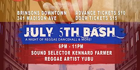 Reggae Sunday: Independence Day Weekend tickets