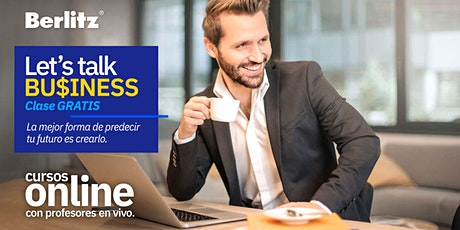Clase GRATIS! - Let's talk Business OnLine boletos