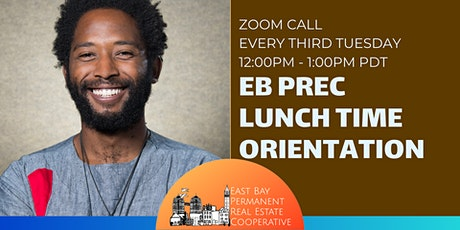 EB PREC Lunch-Time Orientations (Third Tuesdays) tickets