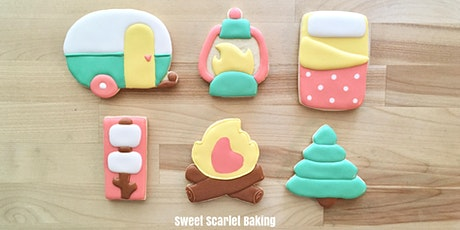 Camping Adult Beginner Cookie Decorating Class tickets