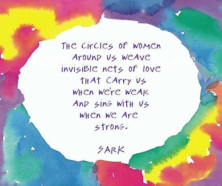 Women Empowering Women  Sacred Circle image