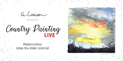 Live Outdoors Watercolour Painting Tutorial