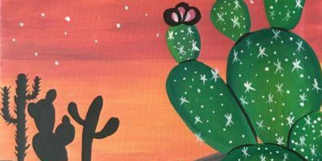"Paint and Sip Event ""Cosmic Cactus"" tickets"