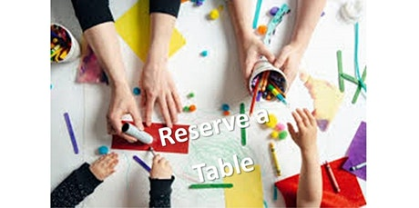 Reserve an Open Studio Table - 90 minutes  (09-05-2020 starts at 3:15 PM) tickets