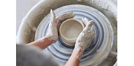 Reserve a Pottery Wheel - 90 minutes  (08-21-2020 starts at 3:45 PM) tickets