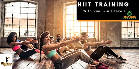 Virtual HIIT Training with Ruel tickets