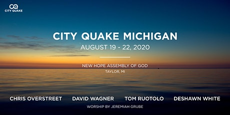City Quake Michigan w/ Dave Wagner, Chris Overstreet, and Tom Ruotolo tickets