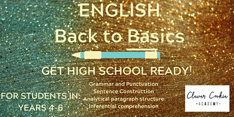 English Back to Basics (Primary) tickets