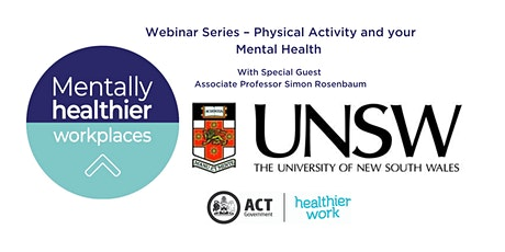 Physical activity and your mental health feat. UNSW's Simon Rosenbaum tickets