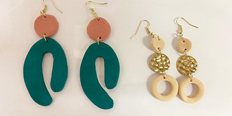 Polymer Clay Earring Workshop tickets