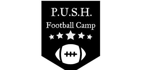 PUSH Football Skills Camp tickets