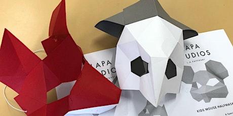 Virtual School Holidays Program- Poly-Mask Making Kits tickets