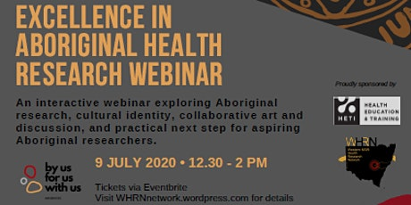 Excellence in Aboriginal Health Research tickets