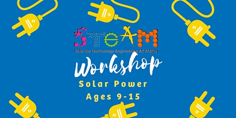 BOOKED OUT - Solar Power Workshop - Casuarina Library Ages 9-15 tickets