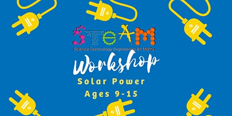BOOKED OUT - Solar Power Workshop - Darwin City Library   Ages 9-15 tickets