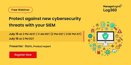 Protect against new cybersecurity threats with your SIEM tickets