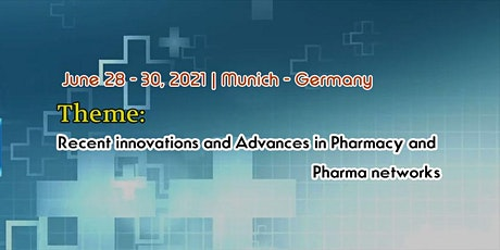 International Conference on Pharmacy and Pharma Networks Tickets