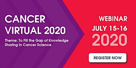 Cancer Virtual 2020 tickets