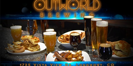 Join Outworld Brewing for Social (Distancing) Happy Hour--Sci-Fi Themed tickets