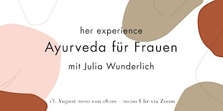 her Experience – Ayurveda für Frauen Tickets
