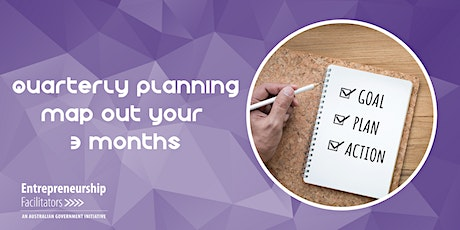 Quarterly Planning, Map out your 3 months - In Person or Zoom Options tickets