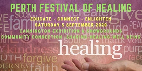 2020 Perth Festival of Healing tickets