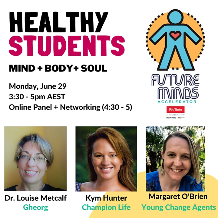Healthy Students: Mind + Body + Soul image