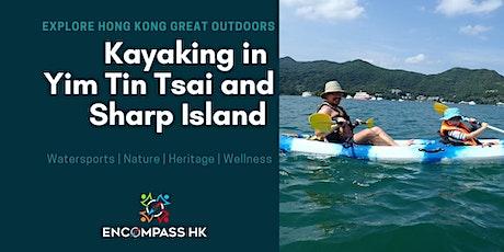 Kayaking adventure in Yim Tin Tsai and Sharp Island tickets