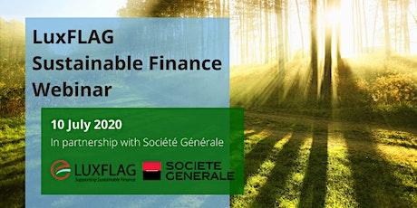 LuxFLAG webinar with Société Générale tickets