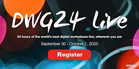 DWG24 - 2020 - Registration biglietti