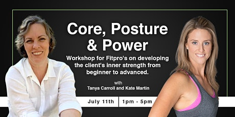 Core Posture & Power - Workshop for Fit Pro's tickets