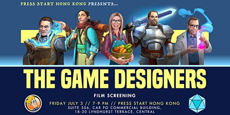 The Game Designers: Documentary Screening tickets