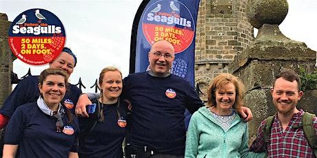 NEW DATES: Follow the Seagulls Charity Trek - Fife Coast, Scotland 2020 tickets
