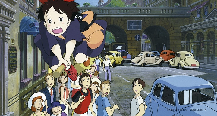 Japanese movie under the stars - Kiki's Delivery Service[魔女の宅急便] image