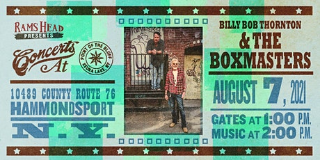 Billy Bob Thornton & The Boxmasters tickets