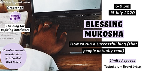 How to run a successful blog (that people actually read) tickets