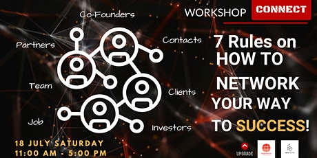 "TOP WORKSHOP - ""7 Rules on How to Network Your Way to Success"" tickets"