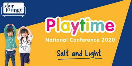 Playtime National Conference 2020 tickets
