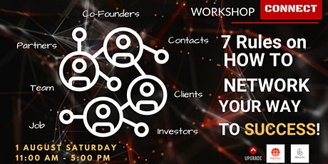 """WORKSHOP - """"7 Rules on How to Network Your Way to Success"""" tickets"""