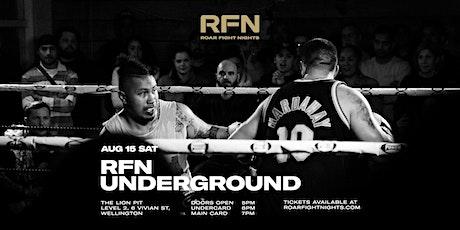 RFN Underground tickets