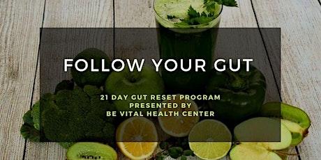 Follow Your Gut 21 Day Reset Program tickets