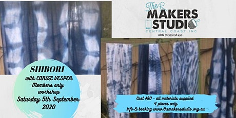 SHIBORI - Introductory Members workshop tickets