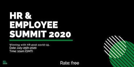 HR  AND  EMPLOYEE SUMMIT 2020 tickets