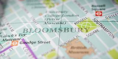 Guided Walk: Shaping Bloomsbury tickets