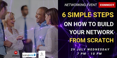 "Networking Event ""7 Secrets Of Networking"" tickets"