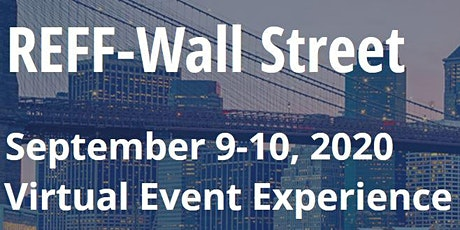 REFF Wall Street 2020 - A virtual event tickets