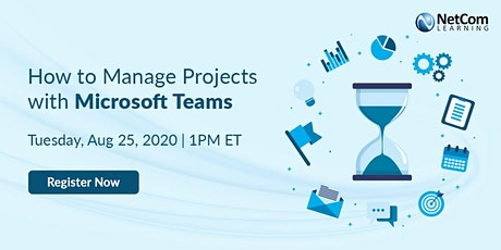 Webinar - How to Manage Projects with Microsoft Teams tickets