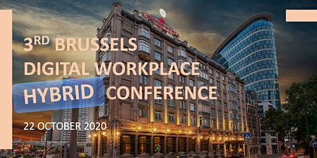 3rd Brussels Digital Workplace Hybrid Conference tickets