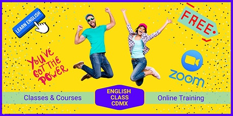 Online English Class.  Free Trial! tickets